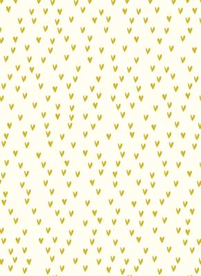 Gorgeous Golden Hearts - Luxury Wrapping Paper - Ideal for Wedding Gifts